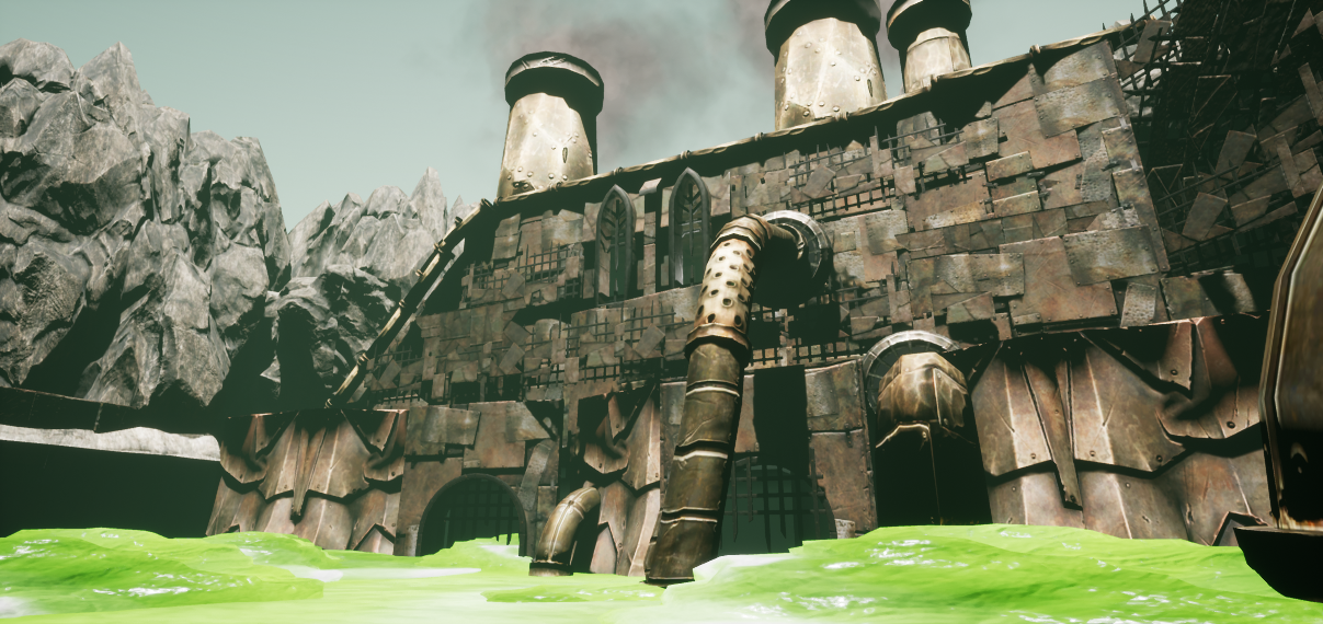 The Slime Factory (UE4) – Dave W James